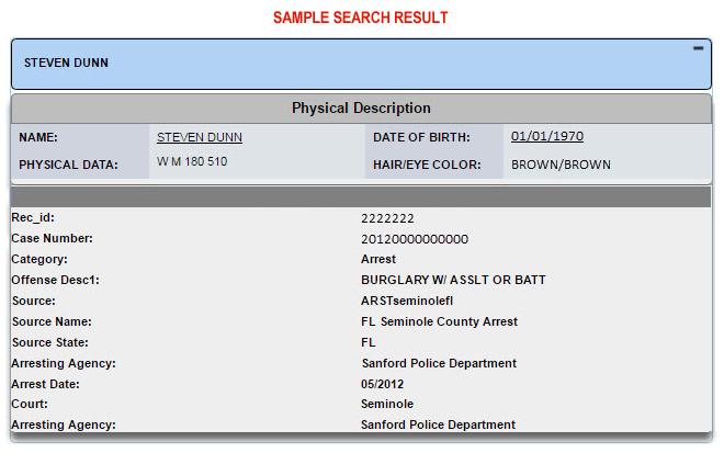 Arrest Searches